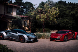 W Motors Fenyr SuperSport e Lykan