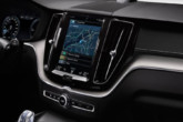 Gli interni del Volvo XC60 concept con un'interfaccia Android