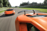Lamborghini Huracan Performante, il video in circuito a Imola