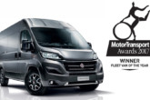 Fiat Ducato nominato Fleet Van of the Year