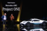 Mercedes-AMG Project ONE, Hamilton battezza la F1 da strada