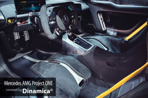 Mercedes Project ONE veste italiano con Dinamica