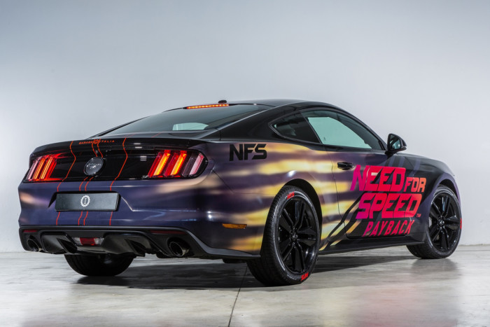 Una Mustang per la nuova saga di Need for Speed