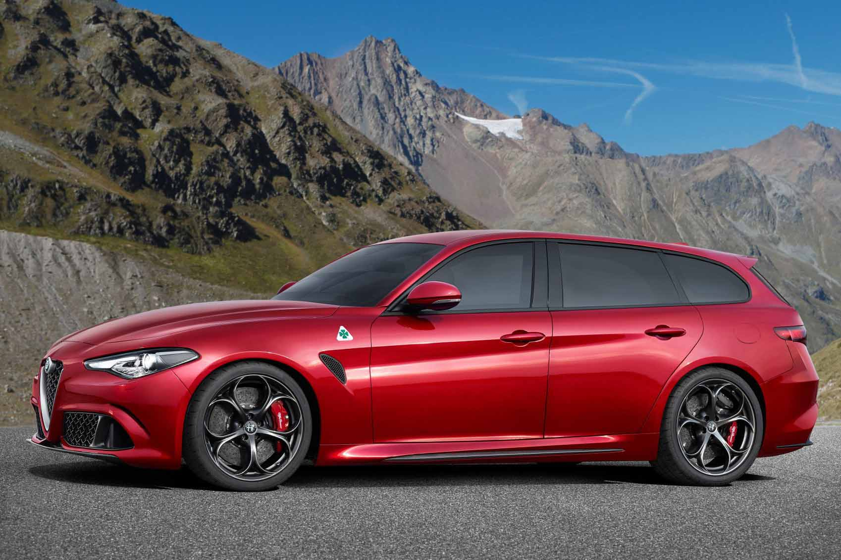 alfa romeo giulia sportwagon dalla germania una sorpresa qn motori. Black Bedroom Furniture Sets. Home Design Ideas