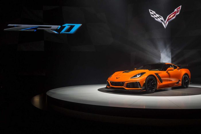Nuova Chevrolet Corvette ZR1 2019