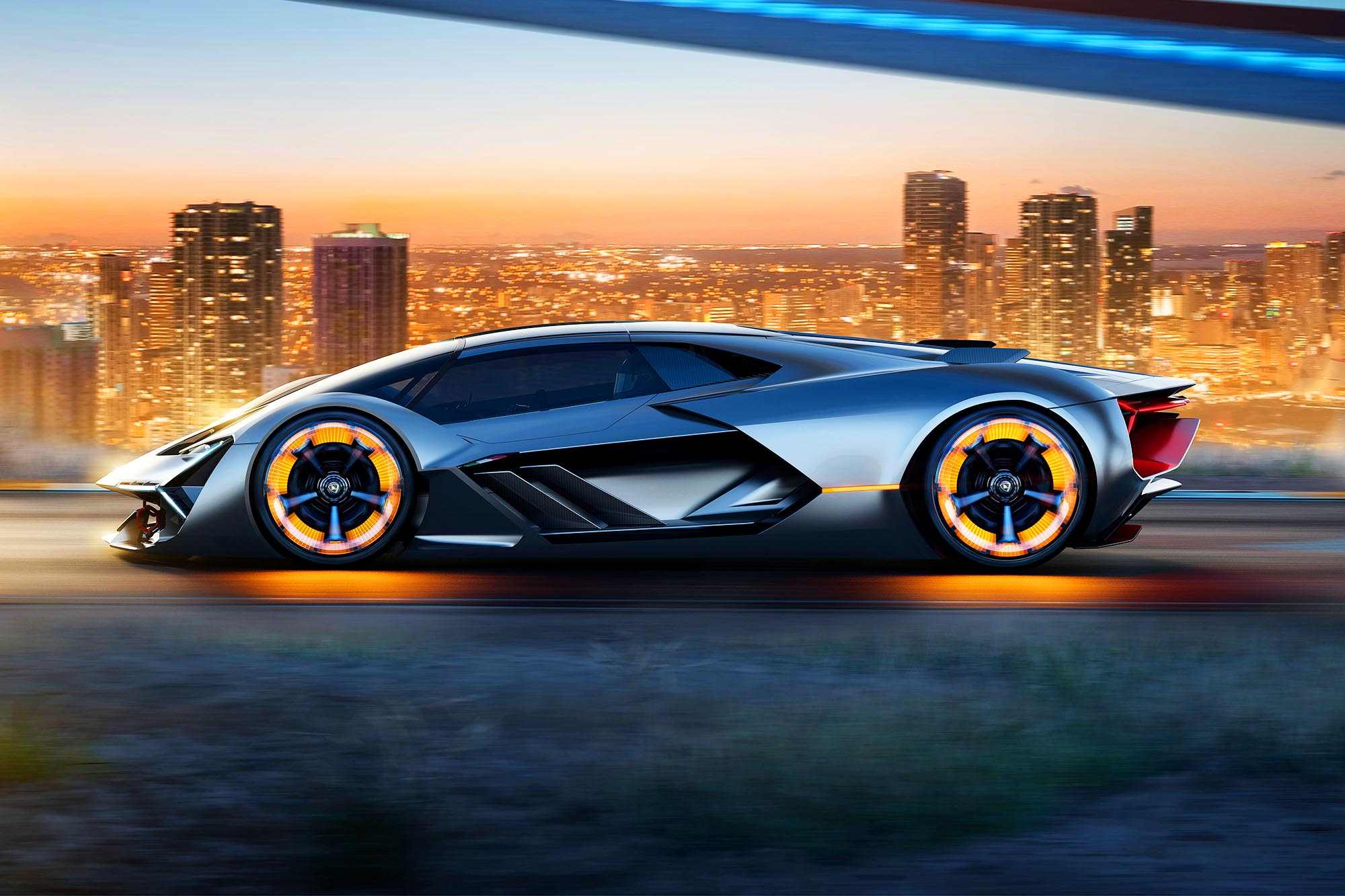 lamborghini terzo millennio il video della supercar elettrica qn motori. Black Bedroom Furniture Sets. Home Design Ideas