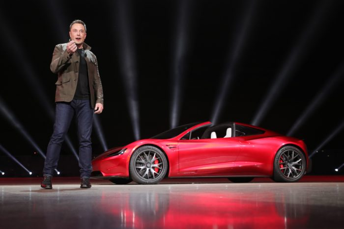 Tesla Roadster Special Option Package, Musk non si ferma più