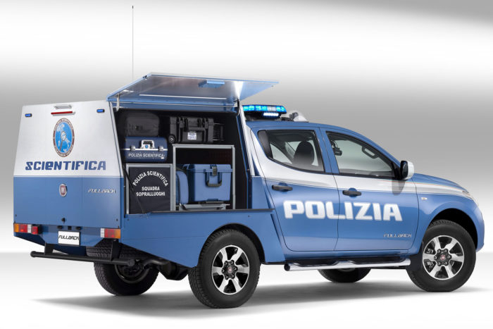 Fiat Fullback: la versione per la Polizia Scientifica del pick-up torinese