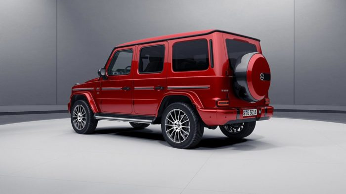 Mercedes Classe G, ecco le serie speciali AMG Line e Night Package