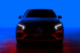 Mercedes Classe A teaser del frontale