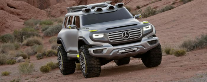 Mercedes GLB Render