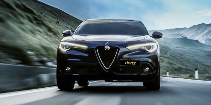 ALFA ROMEO STELVIO - Hertz Winter Collection