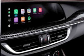 Apple CarPlay su Alfa Romeo Stelvio