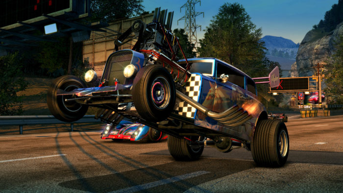Burnout Paradise Remastered per PlayStation 4 Pro e Xbox One X