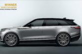 Range Rover Velar vince il World Car Design of the Year