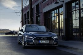 Fari Led high tech Osram per la nuova Audi A8