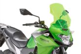 Parabrezza luminosi per le Kawasaki, ecco i Lime Screens