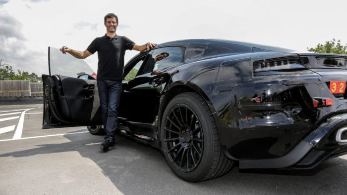 Mark Webber Porsche Mission E