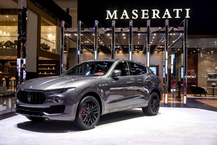 Maserati Levante GranSport al Salone di Pechino