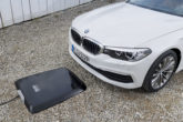 Ricarica wireless batterie auto su BMW 530e iPerformanc