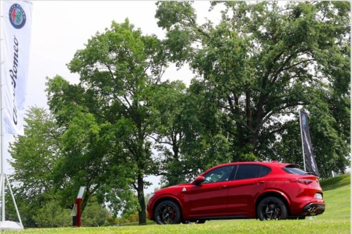Alfa Romeo e Golf Football Legends, le emozioni sul green