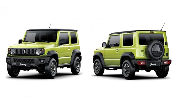 nuovo suzuki jimny il piccolo grande samurai fuoristrada qn motori. Black Bedroom Furniture Sets. Home Design Ideas