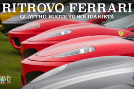 Quindici Ferrari in mostra a Scalo Milano per sostenere We For You