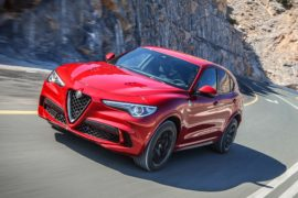 Alfa Romeo Stelvio Quadrifoglio Performance SUV of the Year