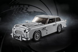 Aston Martin DB5 James Bond Lego 1