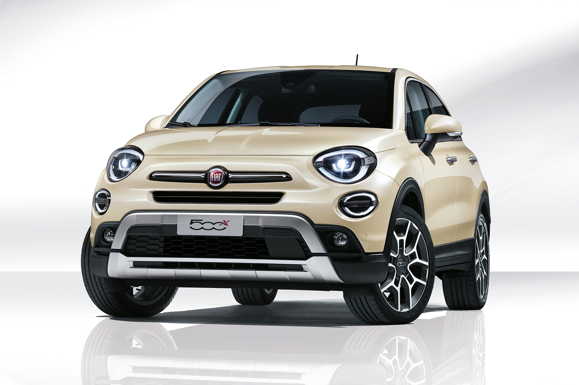 fiat 500x restyling le novit motori fari led prezzo da euro qn motori. Black Bedroom Furniture Sets. Home Design Ideas