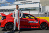 Honda Civic Type R record Hungaroring con Jenson Button 1