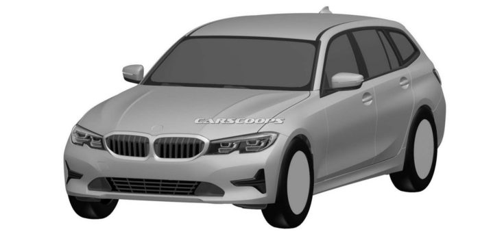 BMW Serie 3 Touring 2019, le patent foto di Carscoops