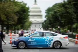 Ford-test guida autonoma a Washington 3
