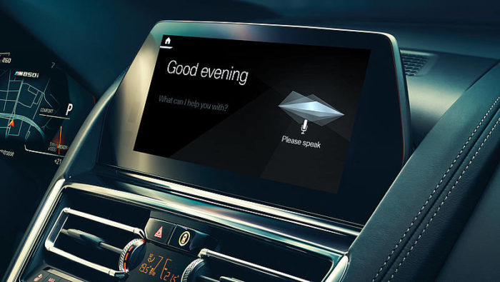 BMW Intelligent Personal Assistent