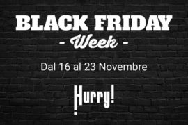 Black Friday, su Hurry offerte speciali per le auto