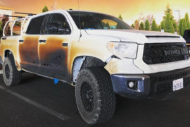 La Toyota Tundra di Allyn Pierce
