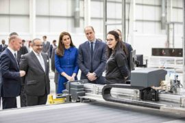 William e Kate inaugurano la nuova super fabbrica McLaren - Composites Technolgy Centre 4