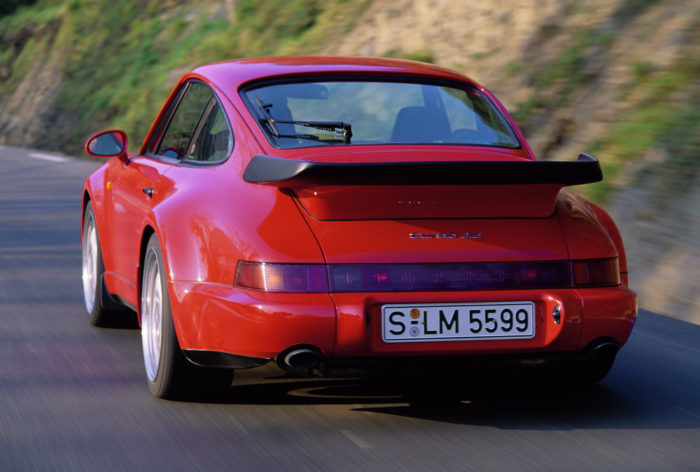 type 964, Porsche 911 Turbo 3.6