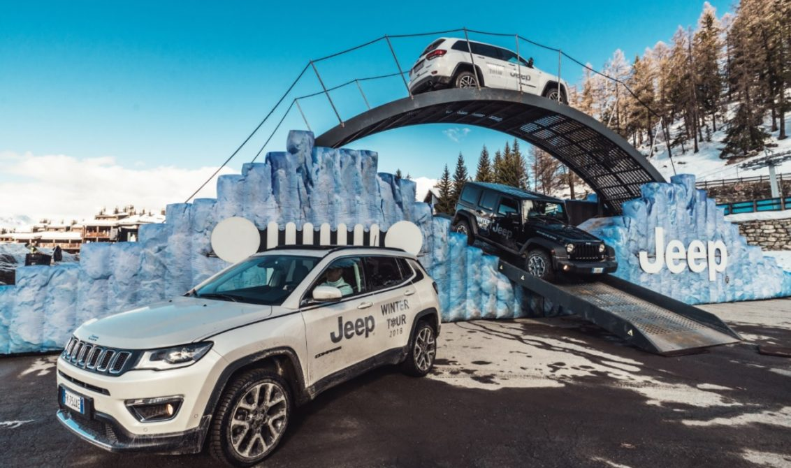 Deejay Xmasters e Jeep Winter Tour