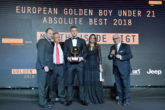 European Golden Boy 2018, Jeep in passerella