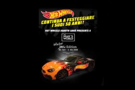 Hot Wheels Abarth sfreccia verso Man's World 1