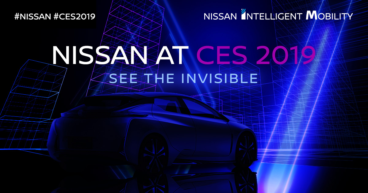 Nissan al CES 2019. See the Invisible