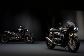 1 Triumph Factory Custom - Thruxton TFC e Rocket TFC