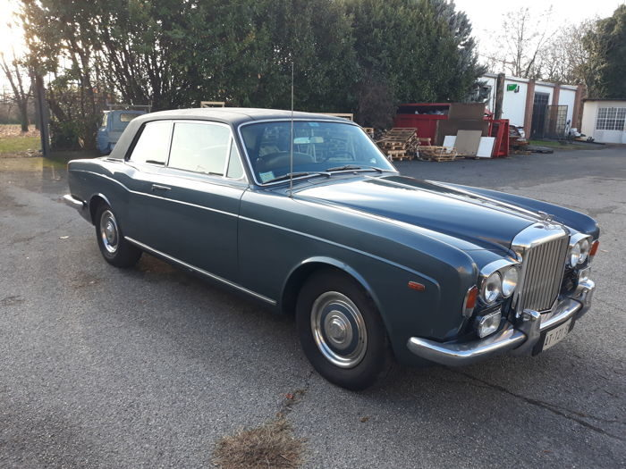 Bentley Two Door Saloon Mulliner Park Ward - 1969