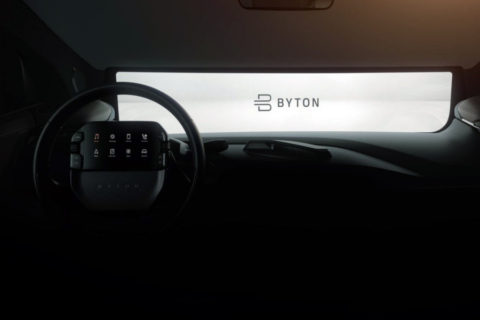 Byton Driver Tablet