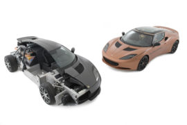 EVORA 414E REEVOLUTION- Lotus e Williams alleate per le power unit delle auto stradali