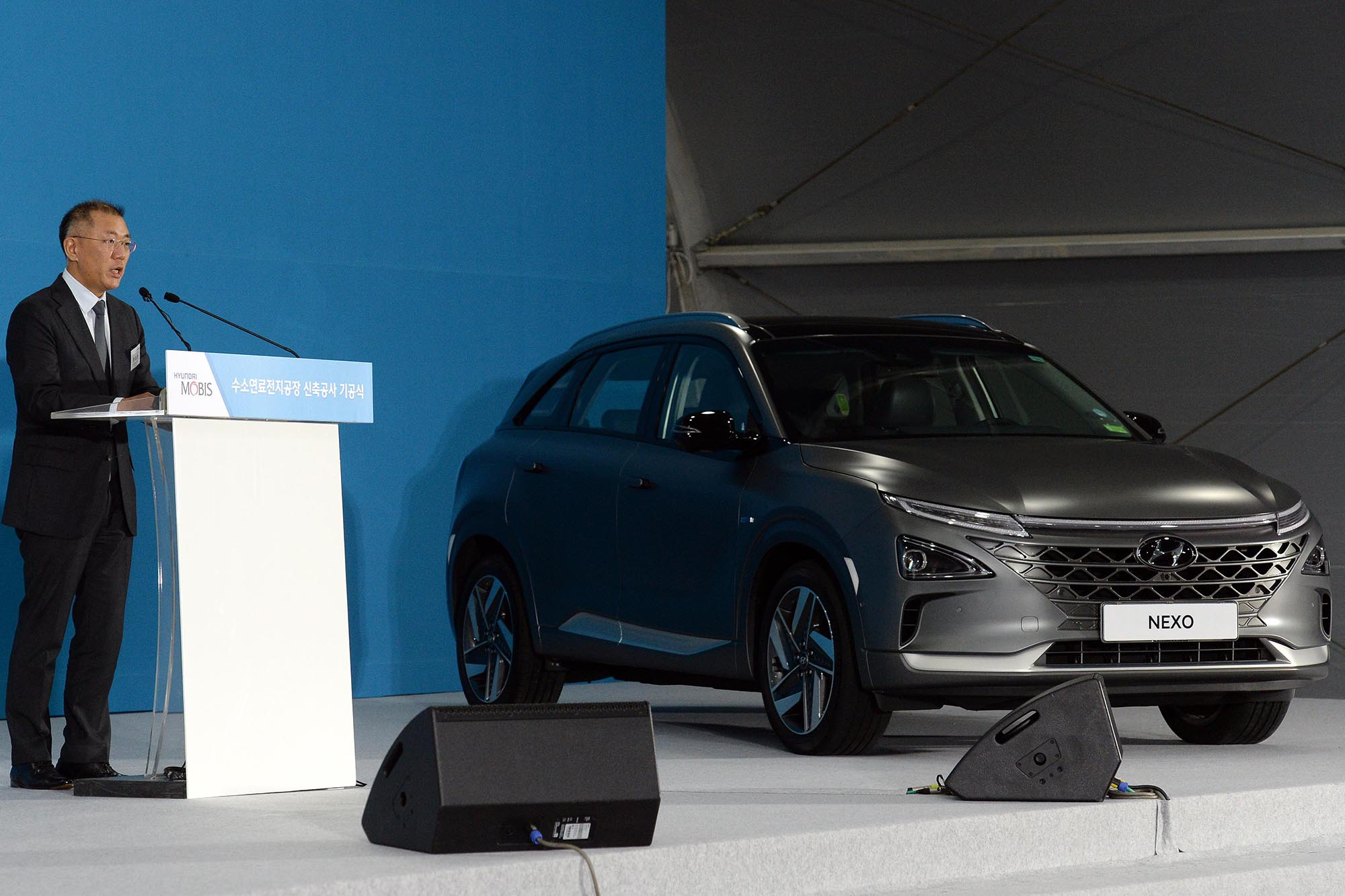 Hyundai al World Economic Forum chiede cooperazione per l'idrogeno