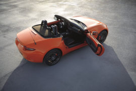 Mazda MX-5 30th Anniversary Edition, eterna spider in Racing Orange 7