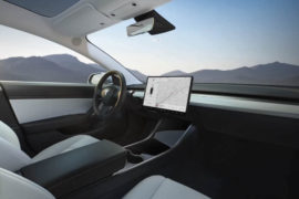 Tesla Model 3 - interni