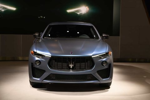 Maserati Levante GTS ONE OF ONE Ray Allen @ New York Int Autoshow 2019